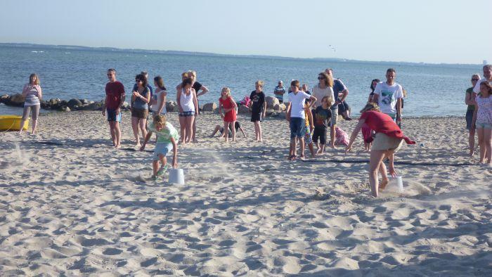 Kindergeburtstag Surfen - Beacholympiade