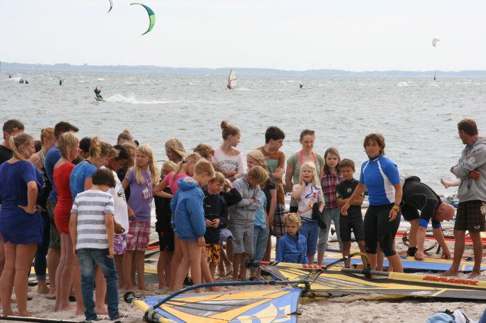 Kindergeburtstag Surfen am Strand