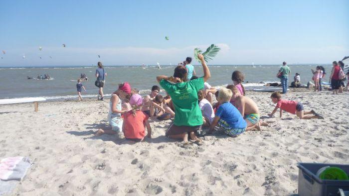 Kindergeburtstag Surfen - Strandspiele