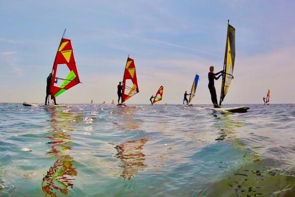 Klassenfahrt Surfen - Windsurfers
